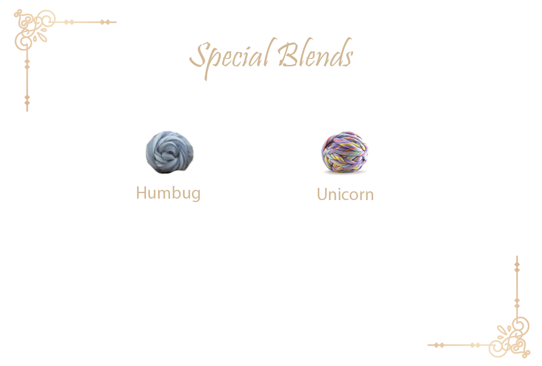 Special blend wool collection